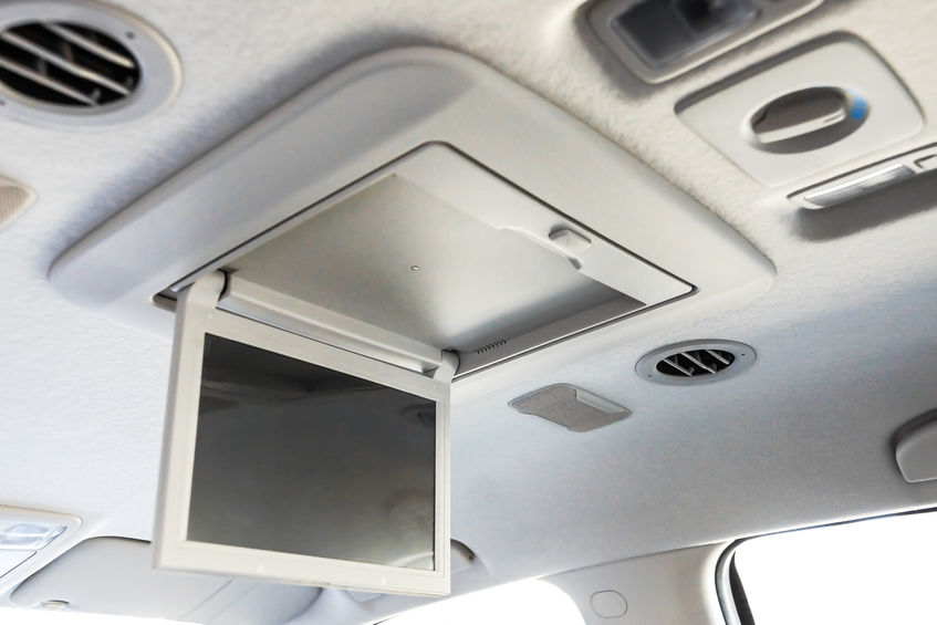 Entertain the Kids on the Road with a DVD System