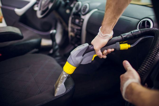 Cleaning Your Car Upholstery After it Rains