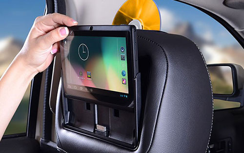 if you are interested in learning more about rear seat entertainment whether its playing apps dvds or games we can help keep everyone in the vehicle